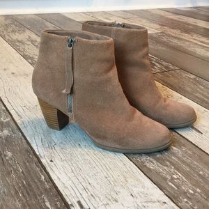 Bass Bridget suede booties